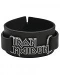Iron Maiden - Logo Leather Wrist Strap