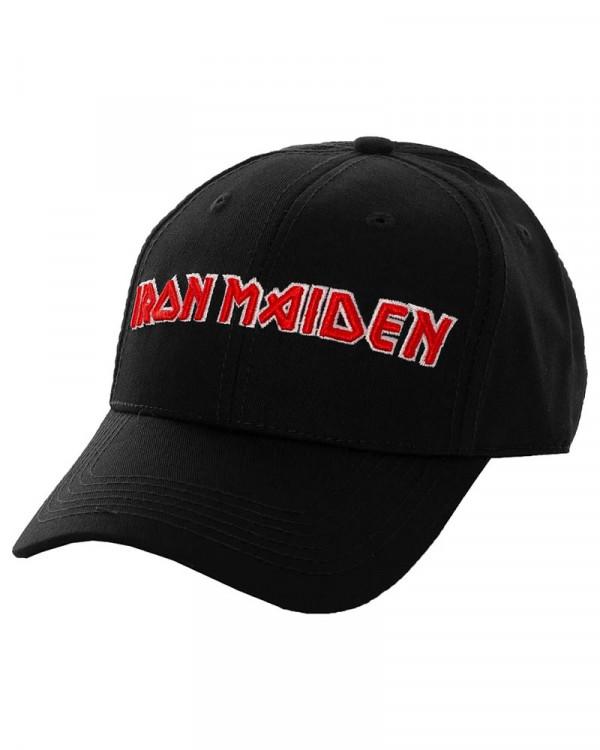 Iron Maiden - Logo Black Baseball Cap