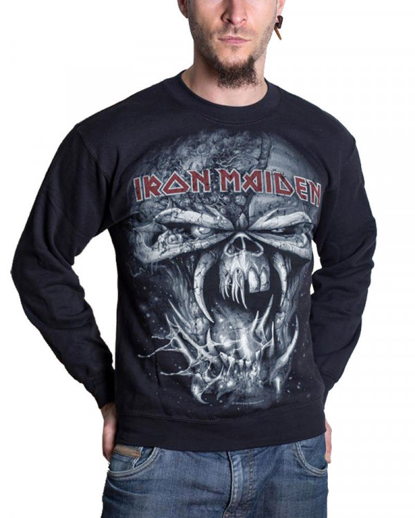 Iron Maiden - Final Frontier Eddie Men's Sweatshirt