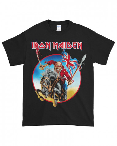 Iron Maiden - Euro Tour Black Men's T-Shirt