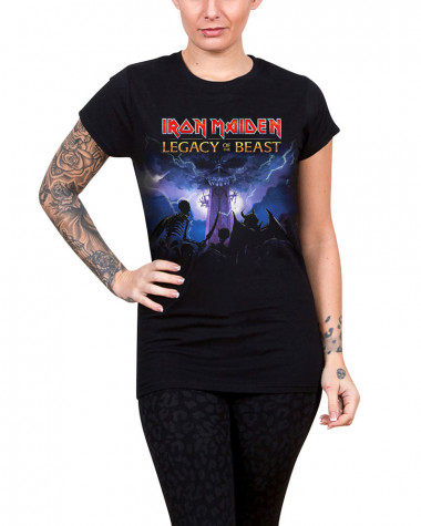 Iron Maiden - Legacy Army Women's T-Shirt