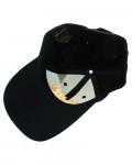 Janis Joplin - Orange Logo Black Baseball Cap