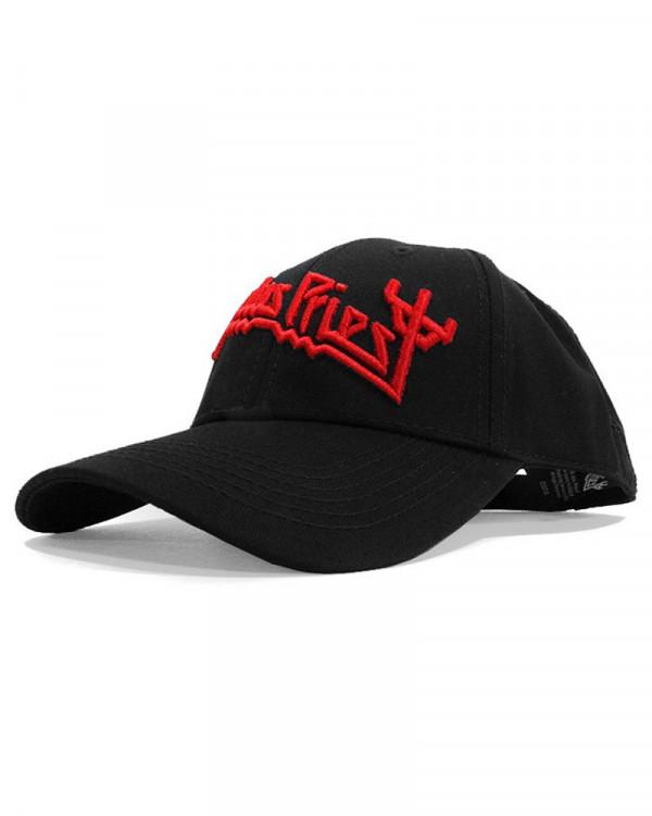 Judas Priest - Fork Logo Black Baseball Cap
