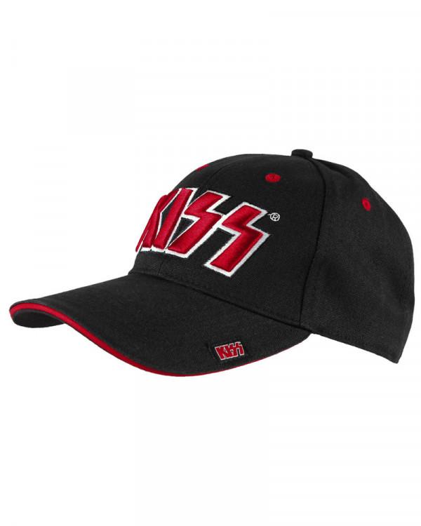 Kiss - Logo Black Baseball Cap