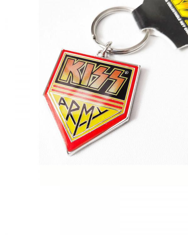 Kiss - Army Pennant Keychain