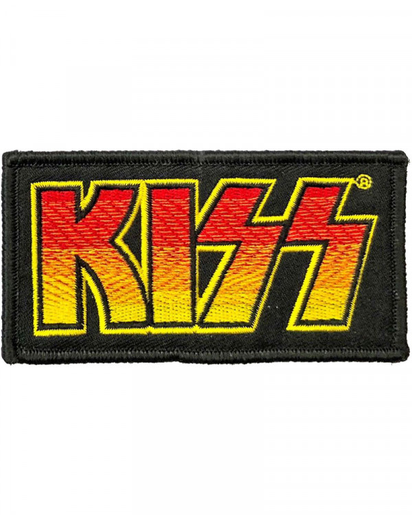 Kiss - Classic Logo Embroidered Patch
