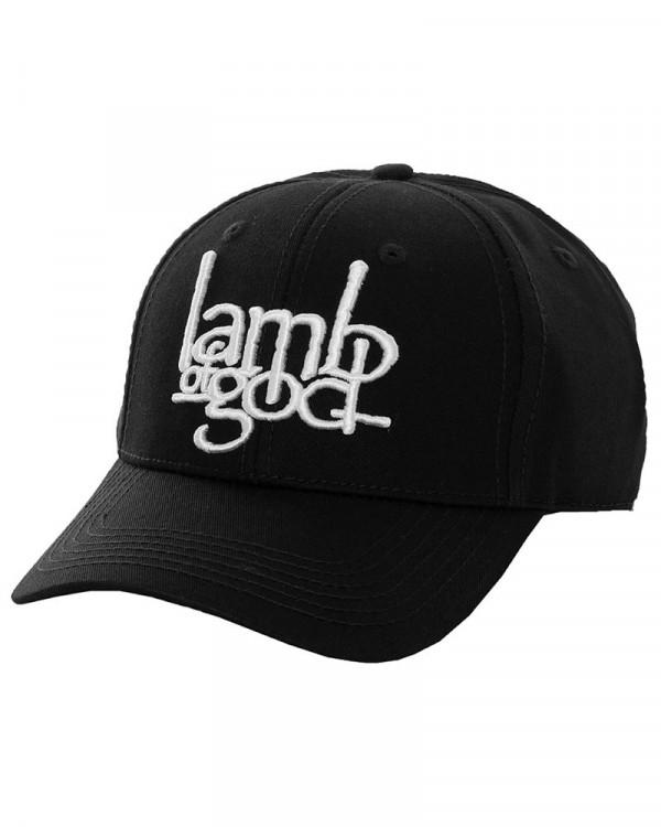 Lamb Of God - Logo Black Baseball Cap