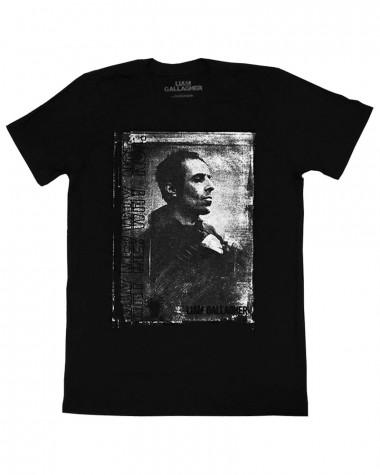 Liam Gallagher - Monochrome Black Men's T-Shirt