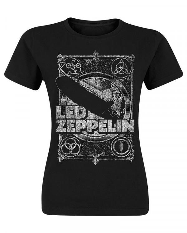 Led Zeppelin - Vintage Print Women's T-Shirt