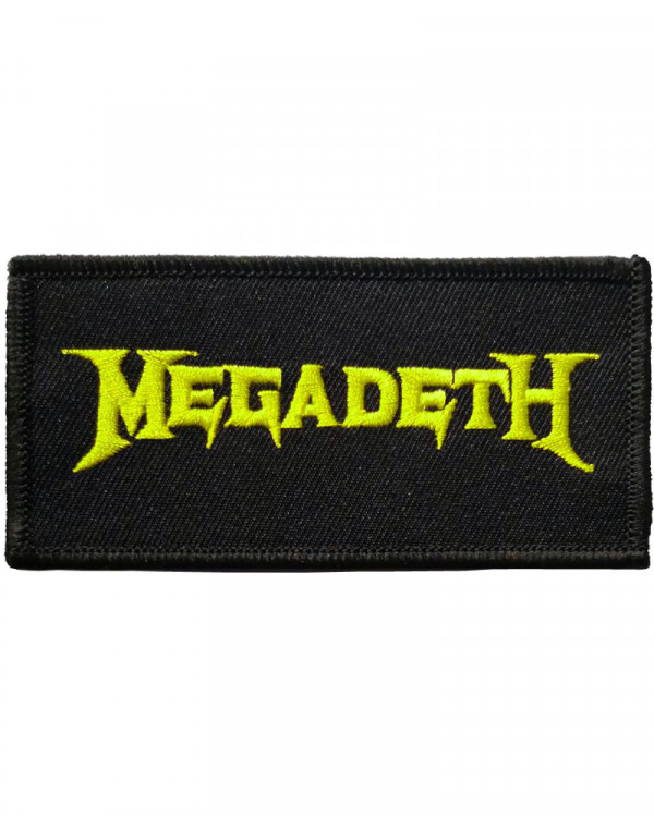 Megadeth - Logo Embroidered Patch