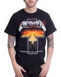 Metallica - Master Of Puppets Cross Black Men's T-Shirt