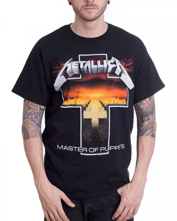 Metallica - Master Of Puppets Cross Men's T-Shirt