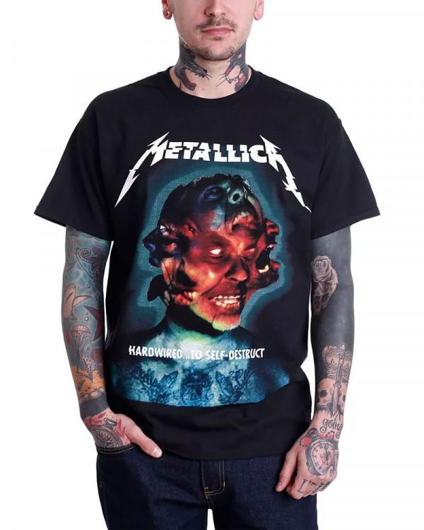Metallica - Hardwired Album Cover Men's T-Shirt