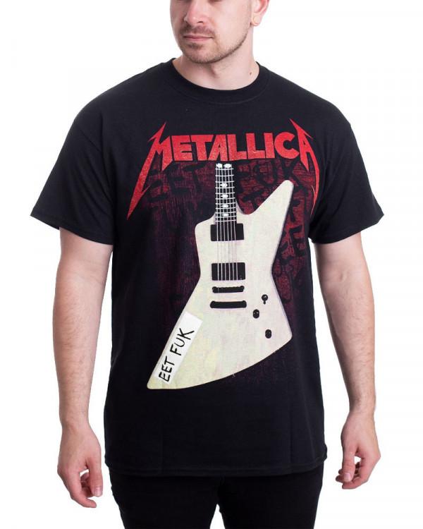 Metallica - Eet Fuk Black Men's T-Shirt