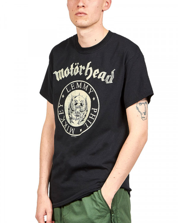 Motorhead - Undercover Seal Newsprint Men's T-Shirt