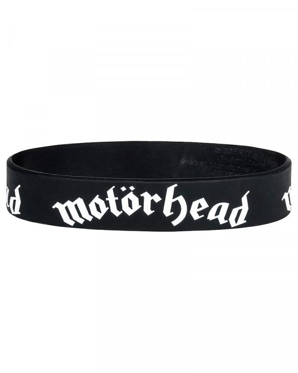 Motorhead - Logo Black Gummy Wristband