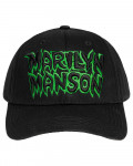Marilyn Manson - Logo Black Baseball Cap