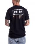 Nine Inch Nails - Downward Spiral Black Men's T-Shirt