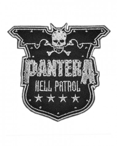 Pantera - Hell Patrol Embroidered Patch