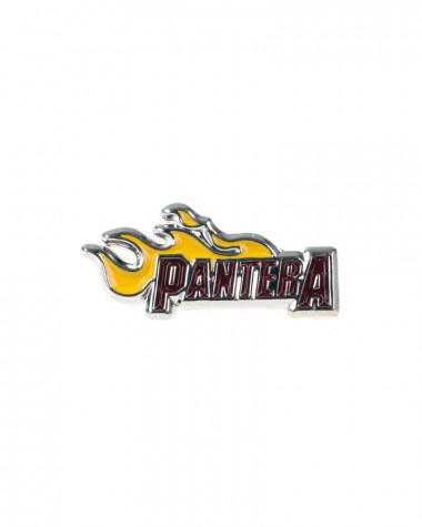 Pantera - Flame Logo Pin Badge