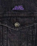 Black Sabbath - Purple Logo Pin Badge