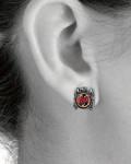Slayer - Eagle Stud Earrings