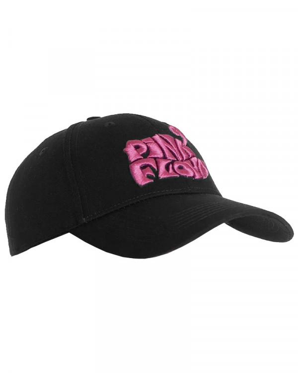 Pink Floyd - Retro Swirl Logo Black Baseball Cap