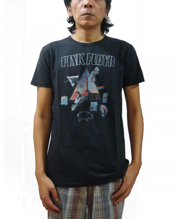 Pink Floyd - Montage Vintage Finish Men's T-Shirt