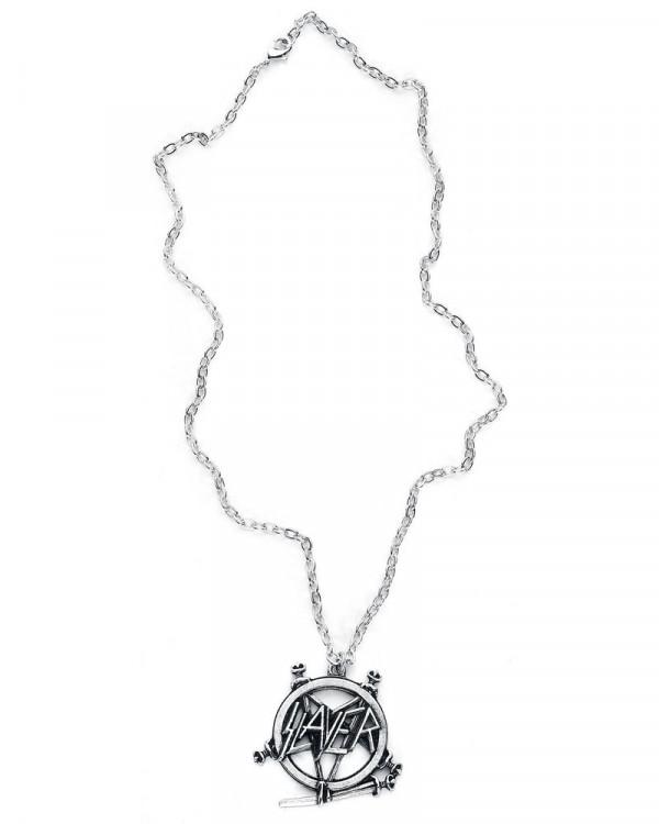 Slayer - Pentagram Logo Pendant
