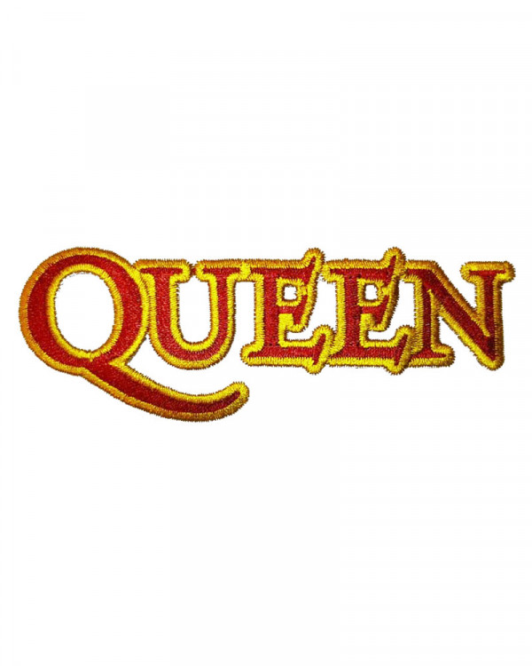 Queen - Cut Out Logo Embroidered Patch