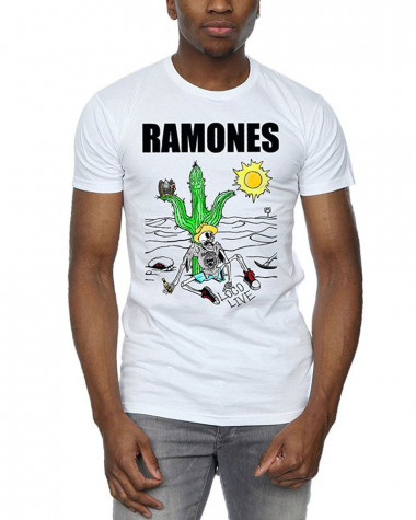 Ramones - Loco Live White Men's T-Shirt