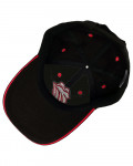 Rolling Stones - Classic Tongue Black Baseball Cap