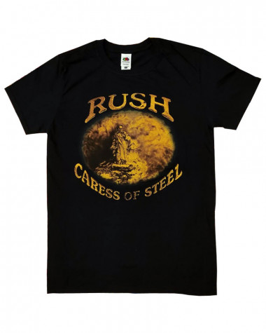 Rush - Caress Of Steel Black Men's T-Shirt