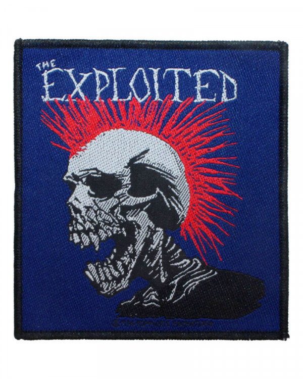 Exploited - Mohican Multicolour Woven Patch