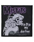 Misfits - Die Die My Darling Woven Patch