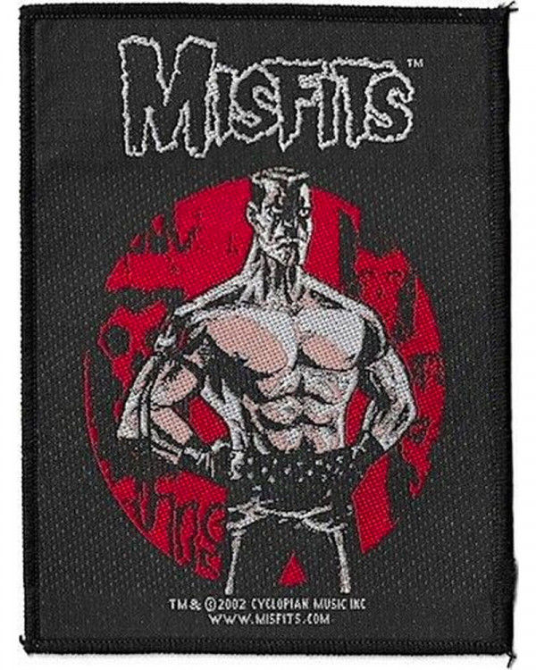 Misfits - Lukic Woven Patch