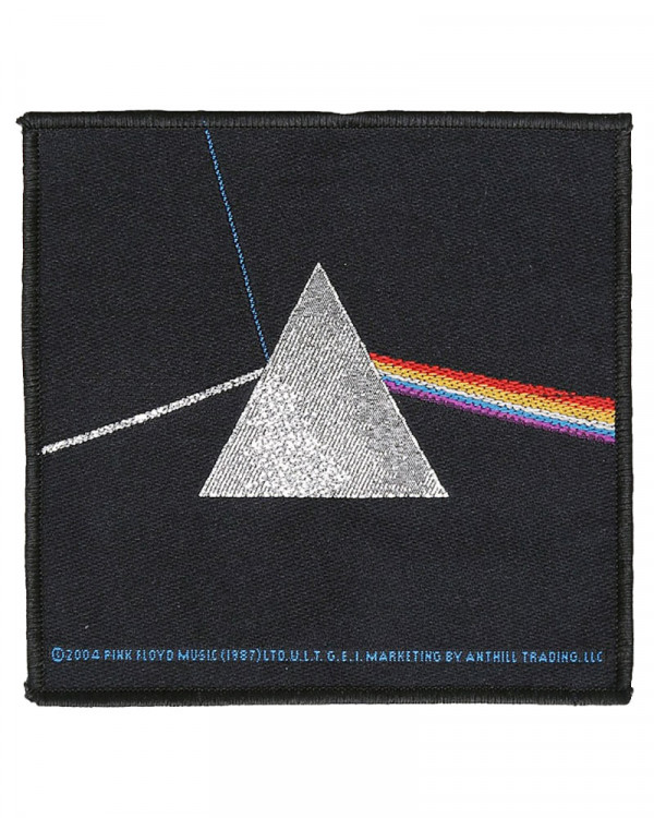 Pink Floyd - Dark Side Of The Moon Woven Patch