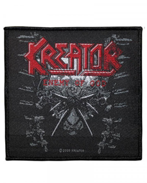 Kreator - Enemy Of God Woven Patch