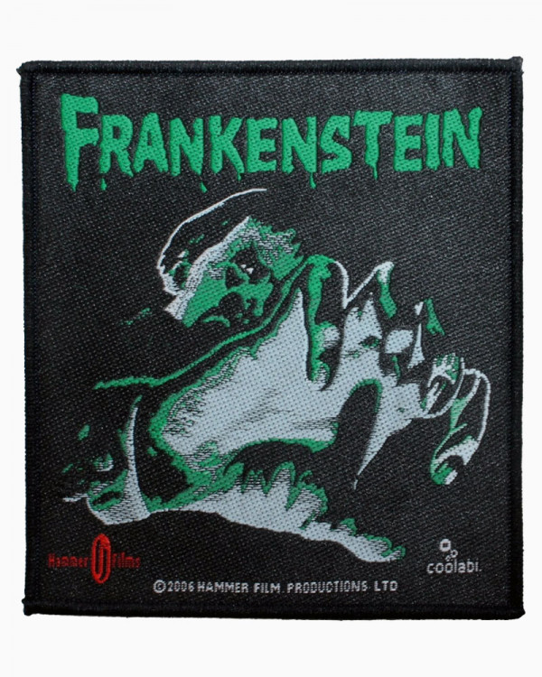 Hammer Films - The Curse of Frankenstein Woven Patch