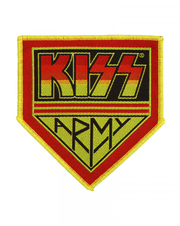 Kiss - Kiss Army Woven Patch