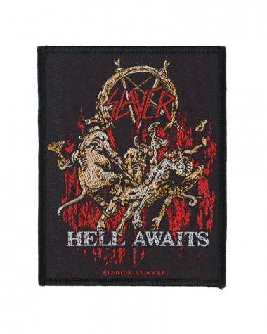 Slayer - Hell Awaits Woven Patch
