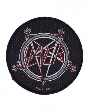 Slayer - Pentagram Woven Patch