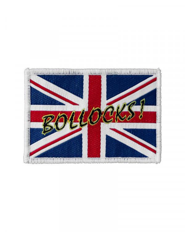 Generic - Union Jack Bollocks Woven Patch