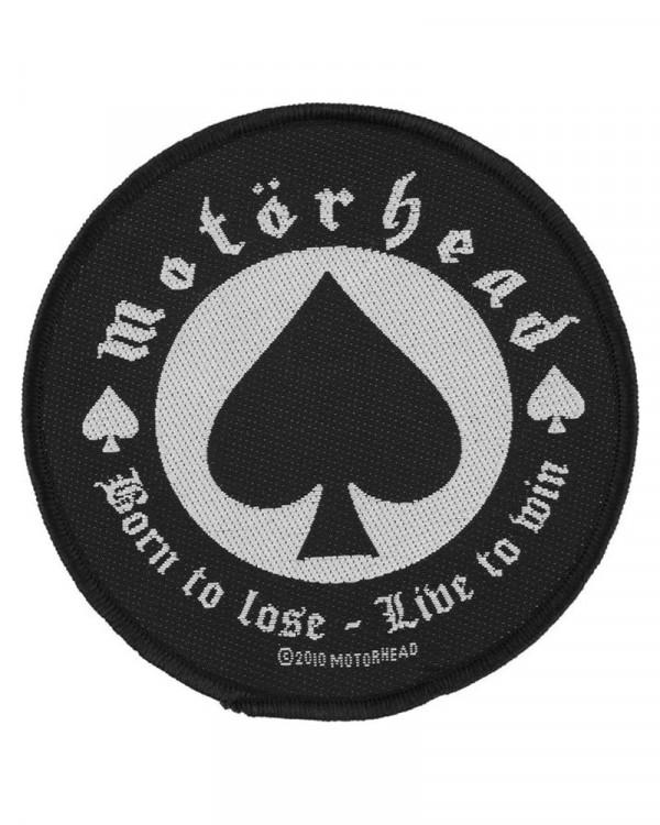 Motorhead - Born To Lose Woven Patch