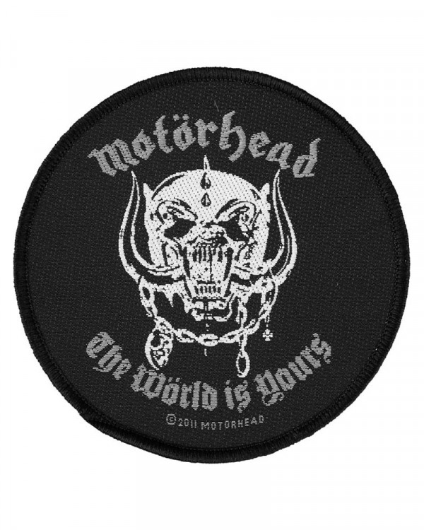 Motorhead - The World Is Yours Woven Patch