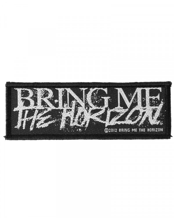 Bring Me The Horizon - Horror Logo Woven Patch
