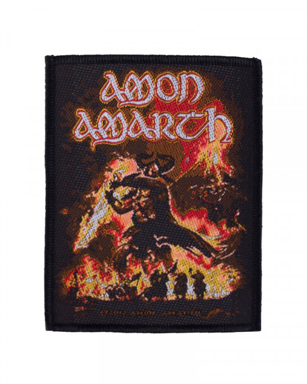 Amon Amarth - Surtur Rising Woven Patch