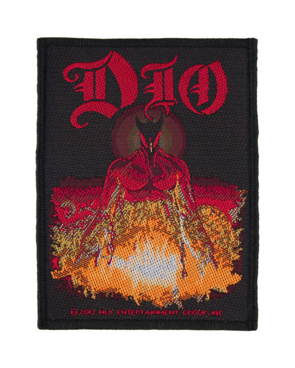 Dio - Last In Line Woven Patch