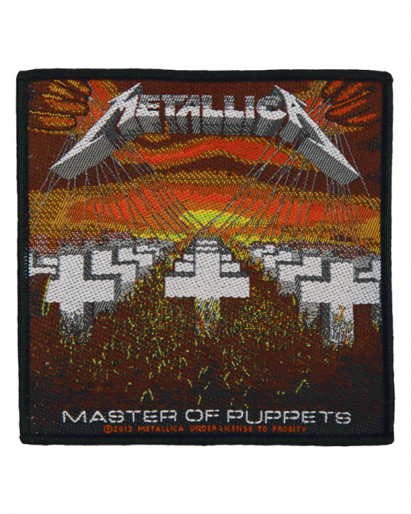 Metallica - Master Of Puppets Woven Patch