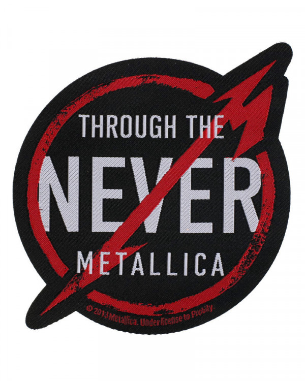 Metallica - Through The Never Woven Patch